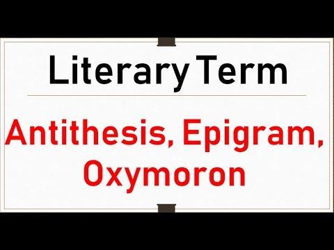 oxymoron vs paradox