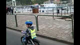 Critical Mass 2012.04.22 Budapest Hungary. BMW kids bike ride(, 2012-04-22T20:33:25.000Z)