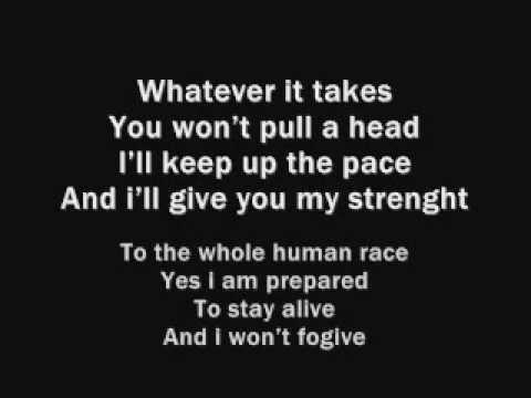 Muse - Survival (Lyrics)