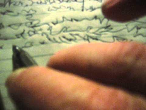 Sanszemiscrittura 1 (asemic writing & record player)