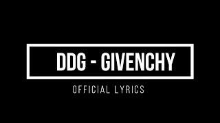 DDG- Givenchy (Lyrics)