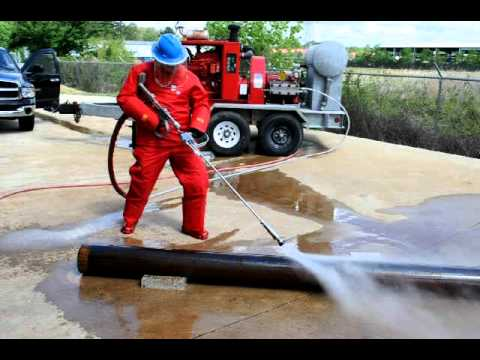 A wide range of control guns for water blasting operations