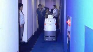 Panasonic's Hospital Delivery Robot