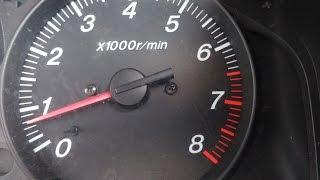 Регулировка частоты вращения холостого хода на Mazda Demio