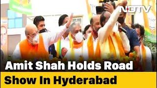 After Yogi, JP Nadda, BJP Unleashes Amit Shah For Hyderabad Civic Polls