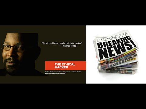 Computer America - Ethical Hacker Charles Tendell; News!