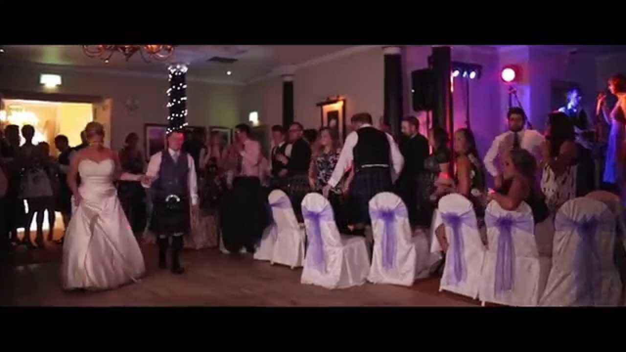 gillian & kevin - pittodrie house hotel wedding video - youtube