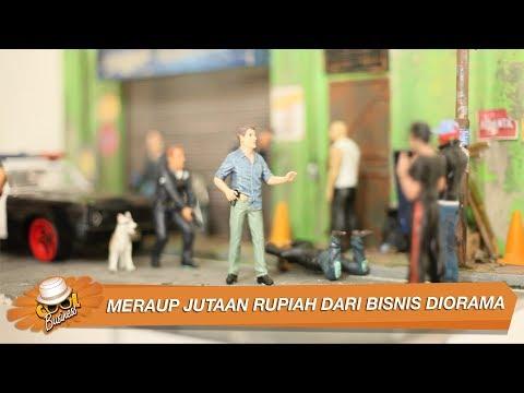 Meraup Jutaan Rupiah Dari Bisnis Diorama | Boll44_iwan | UKM Indonesia