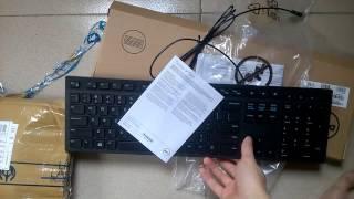Mở hộp, Unbox bàn phím chiclet Dell KB-216 - Vietsub