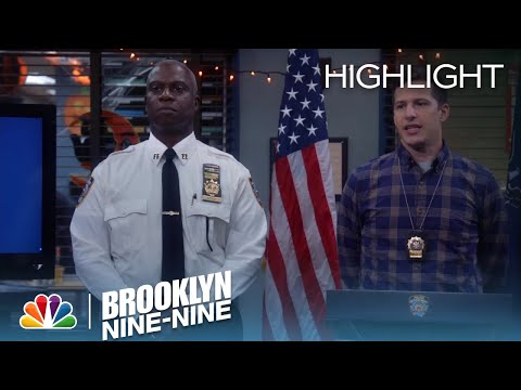 "Jake Introduces The ""Amazing Human/Genius"" Belt | Season 5 Ep. 4 | BROOKLYN NINE-NINE"