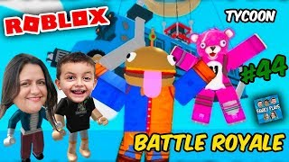 Roblox - Nossa Fábrica do FORTNITE (Battle Royale Tycoon) Family Plays