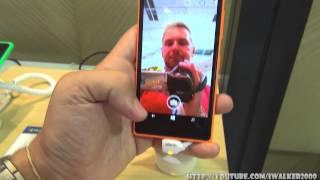 гаджеТы:обзор массовой модели Nokia Lumia 730 Dual SIM на стенде Nokia на выставке IFA 2014 Berlin