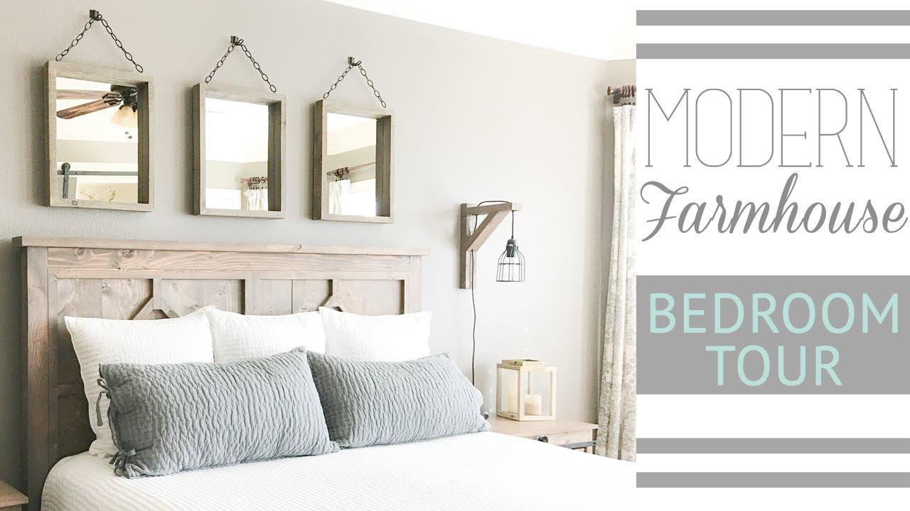 Ashley S Modern Farmhouse Bedroom Tour Shanty 2 Chic