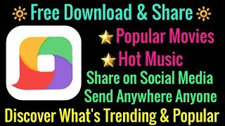 What is the best App for Free download Popular Movies, Hot music