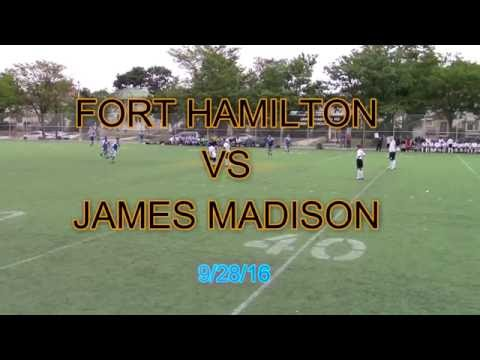 VARSITY SOCCER - FORT HAMILTON vs JAMES MADISON HS 9/28/16