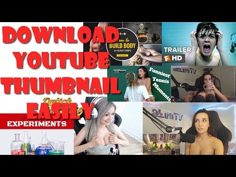 How to Download Youtube Thumbnails Easily?