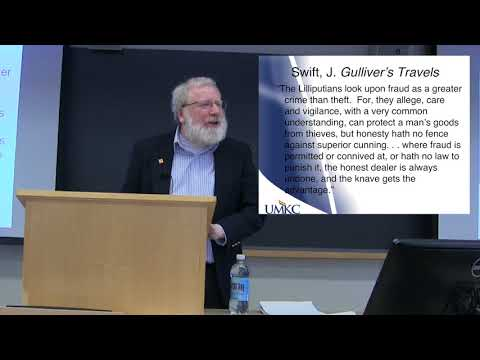 Fraud and Financial Regulation: Bill Black at Harvard Law
