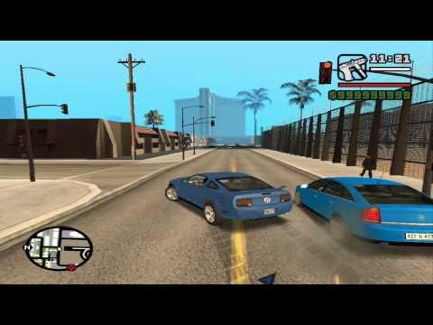 GTA San Andreas Gameplay on GeForce4 MX 440 AGP 8X
