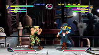 Marvel Vs  Capcom 2 (XBLA) - Gameplay Footage (Part 1/3)
