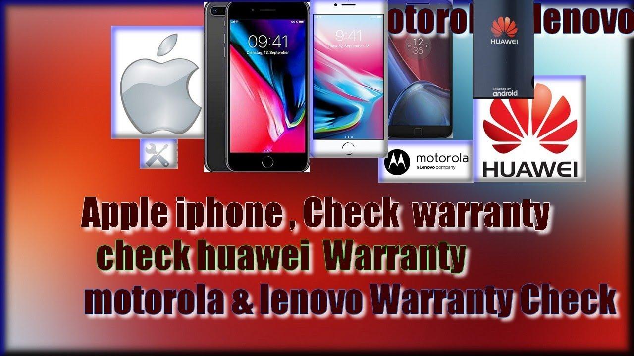 Apple iphone imei 🔧SN Warranty,huawei Check Warranty ,motorola & lenovo  Warranty