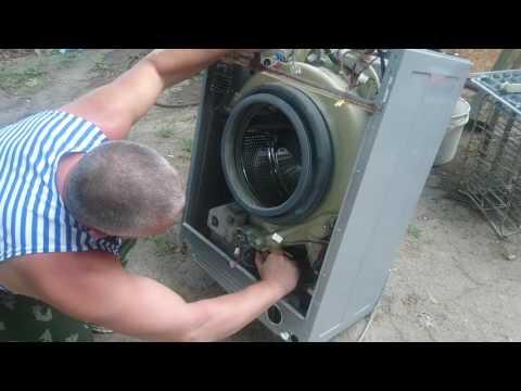 Извлечение постороннего предмета из стиральной машины Samsung (Самсунг) | Podkluchaem.by