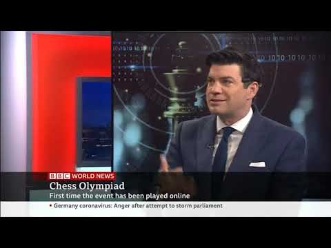 BBC reports on the Online Chess Olympiad