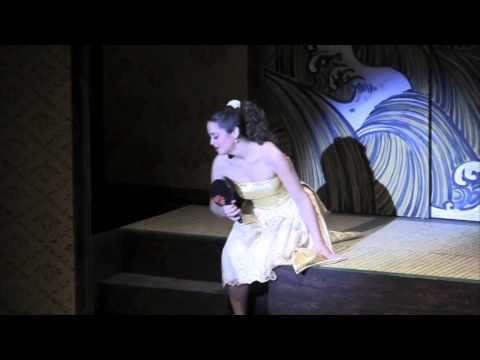 Sheena Ramirez singing The Sun Whose Rays in the Blue Hill Troupe's production of The Mikado by Gilbert and Sullivan.  2013