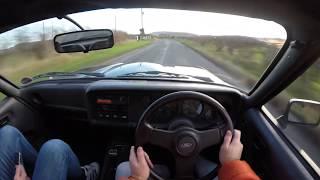 Last Of The Capris - 1987 Ford Capri 280 Brooklands | POV TEST Drive 4K