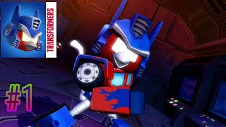 Angry Birds Transformers - Gameplay 1