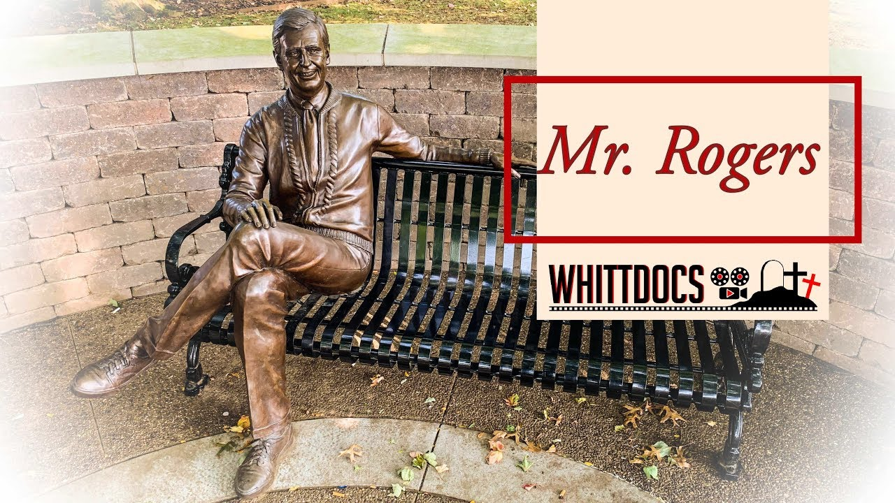 Famous Graves Visiting The Famous Gravesite Of Mr Rogers Youtube