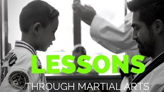 Life lessons through martial arts