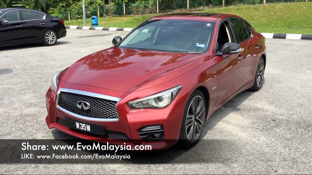 Evo Malaysia 2017 Infiniti Q50s Hybrid In Depth Review By Bobby Ang