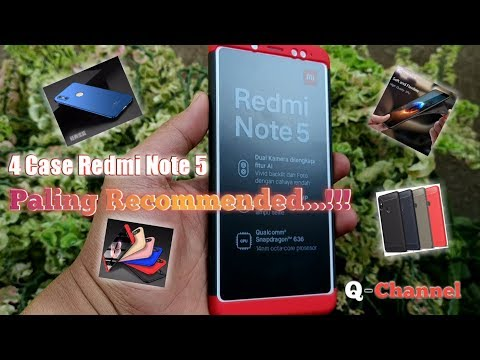Case Redmi Note 5 Pro/Ai Paling Recommended 2018