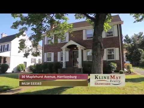 MLS#533163 30 Maplehurst Avenue, Harrisonburg