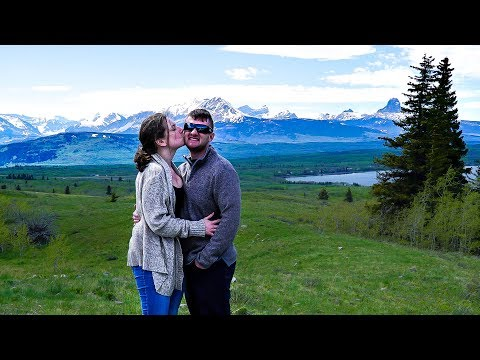 CANADA ROAD TRIP // DAY 1 // Montana, Crossing The Border & Gorgeous Calgary!
