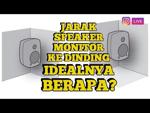 Berapa JARAK IDEAL Speaker Monitor Ke Dinding ? LIVE IG Bareng Sam Kevin !