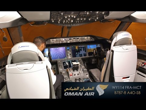 Flight Review: Oman Air WY114 FRA-MCT [Full HD]