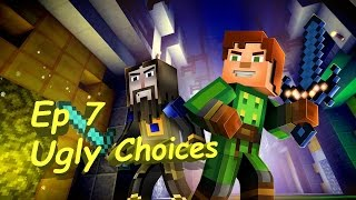 Minecraft: Story Mode Episode 7 Access Denied: Ugly/Silent Choices
