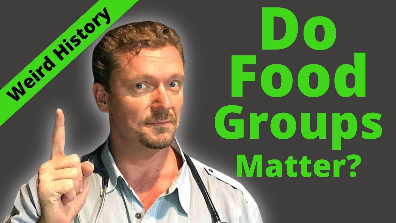 Do the Food Groups Matter? {Their Weird Origins   }