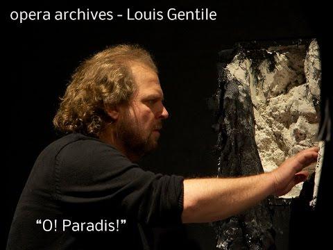 Aria   O Paradis - Louis Gentile Opera archives
