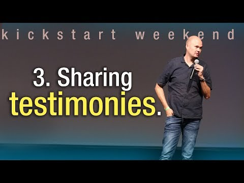 3. Sharing testimonies - Kickstart weekend The Netherlands (Friday)