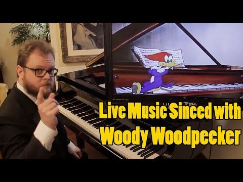 Concert with Video- Woody Woodpecker - Musical Moments From Chopin