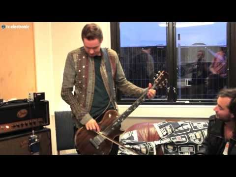 "Jónsi creating ""Sigur Rós"" TonePrint for Hall of Fame reverb (Roskilde Festival)"