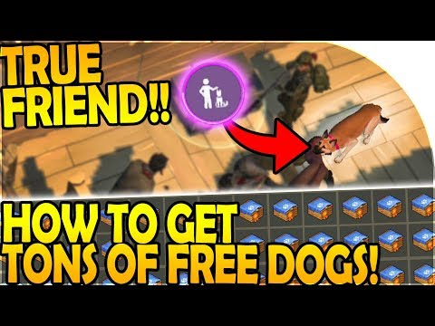 NEW TRUE FRIEND DOG - How to Get TONS of FREE DOGS! - Last Day On Earth Survival 1.7.12 Update