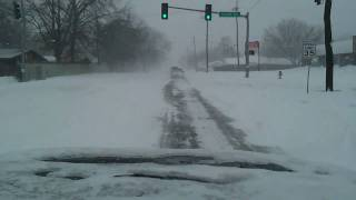 Bartlesville, OK - February 2011 - BLIZZARD