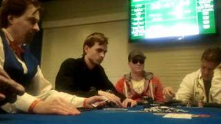 Kings Casino - Martin Kabrhel beim 50.000 € garantiert Poker-Turnier