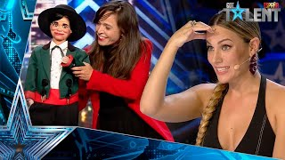 WOW! This ventriloquist and JOSELITO surprise everyone | Auditions 7 | Spain's Got Talent 2021