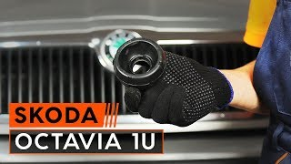 How to replace Shock absorbers on SKODA OCTAVIA (1U2) - video tutorial