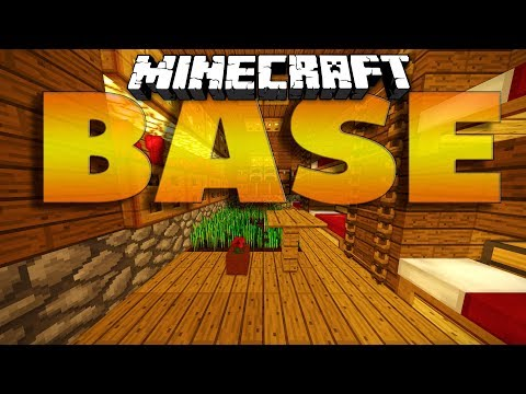 Minecraft How To Build Secret Base Tutorial