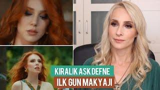 """Kiralık Aşk Defne Makyajı """" İlk Gün Makyajı""""  Elçin Sangu    Sebi Bebi"""